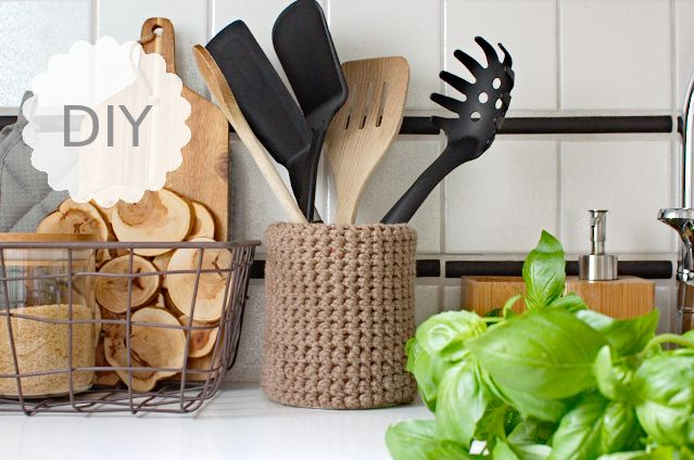 Delicieux DIY: Kitchen Utensil Holder