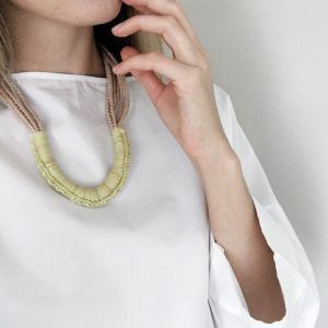 modern necklace bc