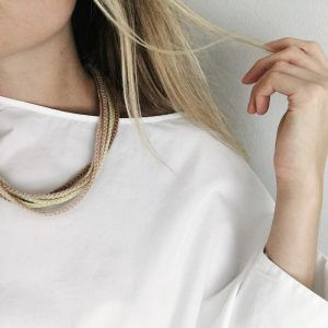 modern necklace opc