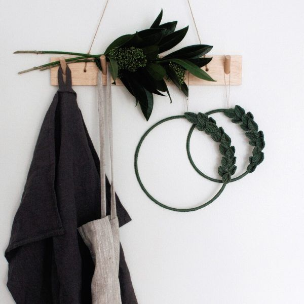 Minimal Green Wreath