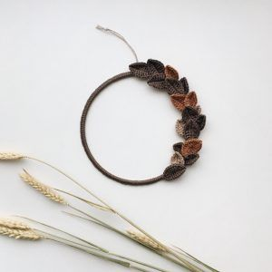 Minimal Wood Wreath