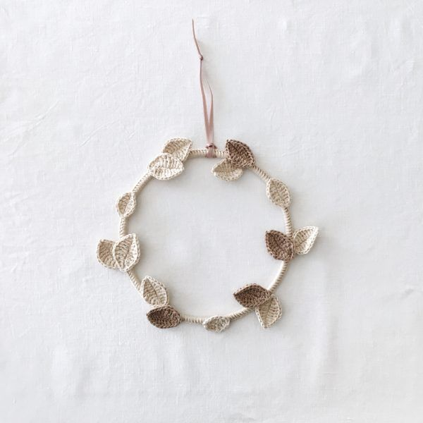 Botanical Cream & Beige Wreath