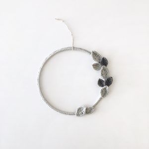 Simple Gray Wreath 15 cm