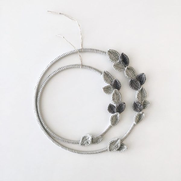 Simple Gray Wreath