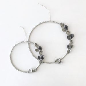 Simple Gray Wreath 20 cm
