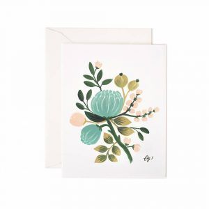 Rifle Paper Co. Card Blue Floral