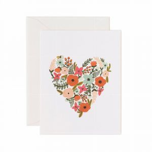 Rifle Paper Co. Card Floral Heart