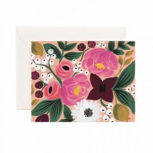 Rifle Paper Co. Card Peach Vintage
