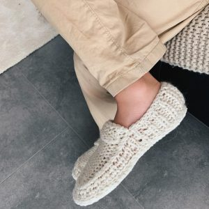 Knit House Slippers for Kids